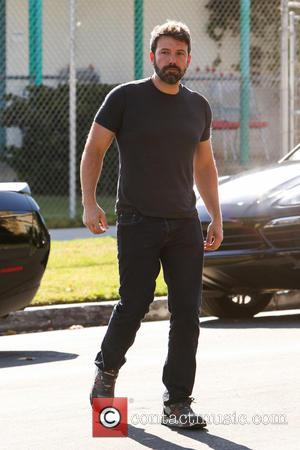 Ben Affleck - Ben Affleck and Jennifer Garner arrive at a building in Santa Monica. The couple, who announced the...