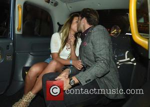 Charlotte Crosby , Max Morley - 'Geordie Shore' star Charlotte Crosby and 'Love Island' star Max Morley are seen kissing...