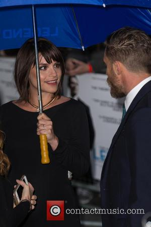 Tom Hardy , Charlotte Riley - The World Premiere of 'Legend' held at the Odeon Leicester Square - Arrivals at...