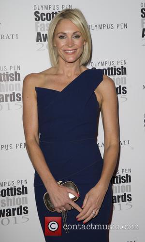 Jenni Falconer - Scottish Fashion Awards 2015 at the Corinthia Hotel - Arrivals - London, United Kingdom - Thursday 3rd...