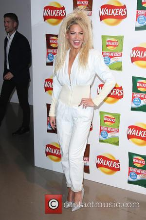 Sarah Harding - Walkers' Bring It Back campaign launch party held at Vinopolis - Arrivals - London, United Kingdom -...