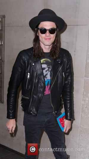 James Bay - James Bay pictured arriving at the Radio 1 studios to perform on the Live Lounge on his...