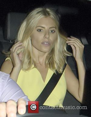 Mollie King - Celebrities leaving the Groucho Club at w1, Groucho Club - London, United Kingdom - Friday 4th September...