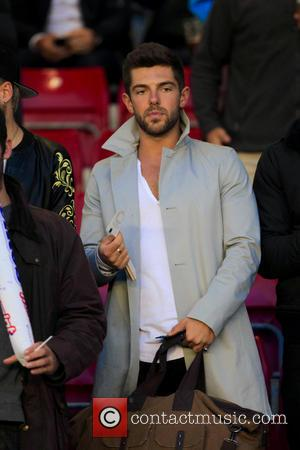 Alex Mytton - The cast of Made in Chelsea watch Jamie Lang play rugby in the Rugby Aid match, enjoying...