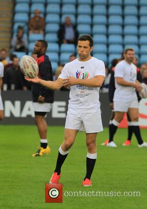 Harry Judd - Mike Tindall celebrity v Professional Rugby Aid game for Rugby for Heroes - London, United Kingdom -...