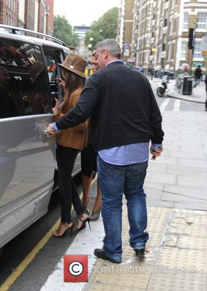 Penélope Cruz - Penélope Cruz seen out and about in London at Agent Provocateur head offices. - London, United Kingdom...