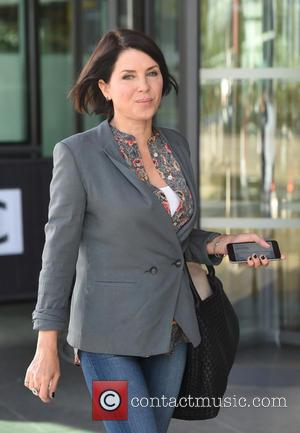 Sadie Frost - Sadie Frost leaves the BBC Breakfast Studios at Media City - Manchester, United Kingdom - Friday 4th...