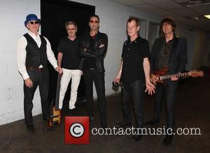 The FIXX, L to R, Dan K. Brown, Adam Woods, Cy Curnin, Rupert Greenall , Jamie West-Oram - The FIXX...