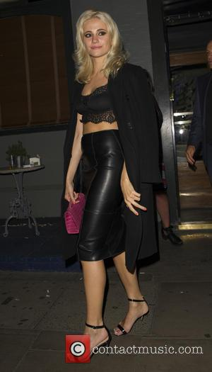 Pixie Lott - Celebrities out at Groucho Club at Groucho Club - London, United Kingdom - Friday 4th September 2015