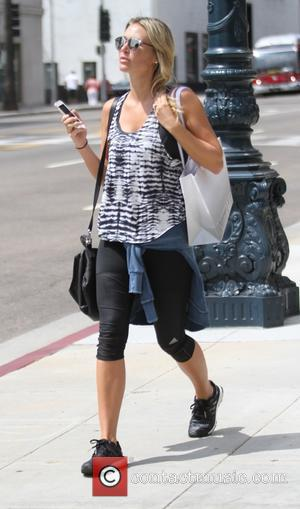 Alex Gerrard - Alex Gerrard leaves a salon in Beverly Hills - Hollywood, California, United States - Friday 4th September...