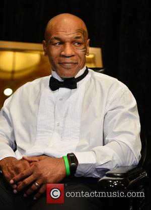 Mike Tyson - Boxing World Heavyweight Champions Media Day with 20 former World Heavyweight Boxing Champions at The Seminole Hard...