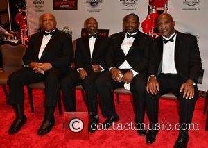 Larry Holmes, Chris Byrd, Riddick Bowe and Evander Holyfield