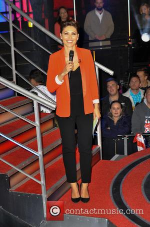 Emma Willis - Celebrity Big Brother eviction at Elstree Studios at Elstee Studios, Celebrity Big Brother - London, United Kingdom...