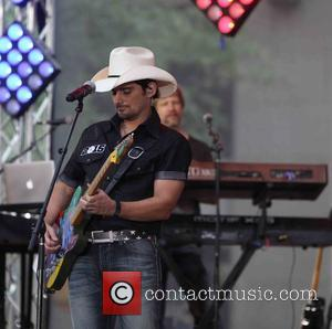 Brad Paisley - Brad Paisley performing live on NBC's Today show part of the NBC Toyota Summer Concert Series -...