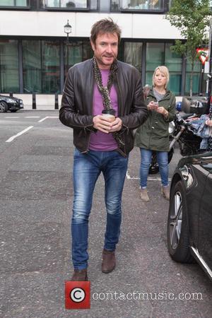 Simon Le Bon - Simon Le Bon pictured arriving at the Radio 2 studio at BBC Western House - London,...