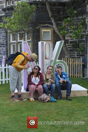 Atmosphere - Festival Number 6 Friday performances and atmosphere at Portmeirion - Gwynedd, United Kingdom - Friday 4th September 2015