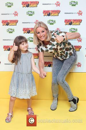 Denise Van Outen , Betsy Mead - Gala evening for new animated series of Danger Mouse on CBBC held at...