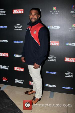 JB Gill - Mike Tindall Celebrity vs. Professional Rugby Aid game for Rugby for Heroes - London, United Kingdom -...