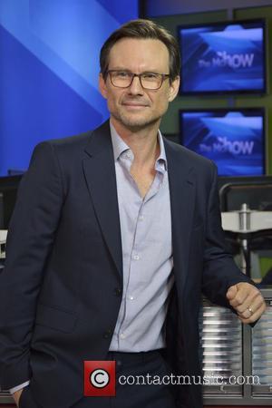 Christian Slater - Global TV Toronto's The Morning Show. - Toronto, Canada - Friday 4th September 2015