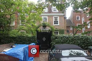 Jamie Oliver's home - General views of Jamie Oliver's new 10 million pound home in North London. The grade 2...