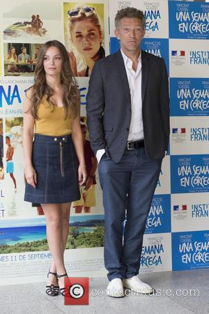 Lola Le Lann and Vincent Cassel