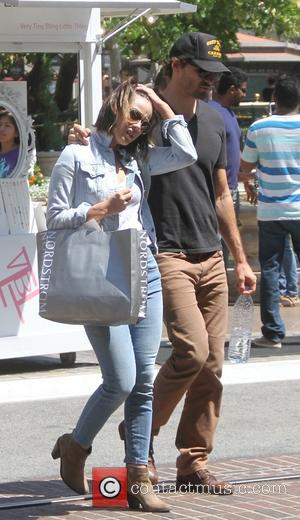 Austin Nichols , Chloe Bennet - Austin Nichols out shopping with his girlfriend Chloe Bennet at The Grove in Hollywood...