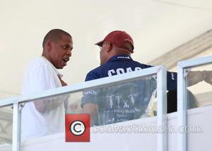 Jay-Z , Mayor of Philadelphia Michael Nutter - Jay-Z attends the Made in America Festival - Philadelphia, Pennsylvania, United States...
