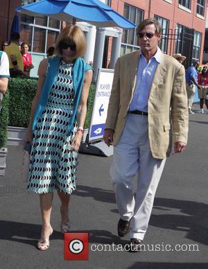 Anna Wintour , David Shaffer - 2015 US Open Tennis at the USTA Billie Jean King National Tennis Center -...