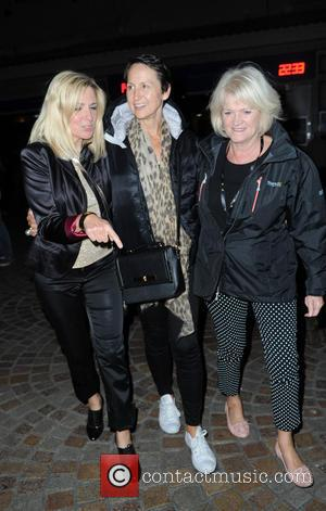 Carol McGiffin - Carol McGiffin spends the evening in Blackpool watching Cats The Musical with Loose Women friends. - Manchester,...
