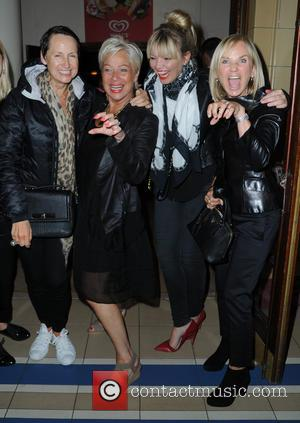 Kate Thornton, Denise Welch, Lisa Maxwell , Carol McGiffin - Carol McGiffin spends the evening in Blackpool watching Cats The...