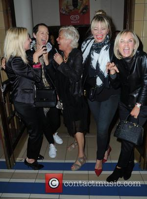 Carol McGiffin, Denise Welch, Lisa Maxwell , Kate Thornton - Carol McGiffin spends the evening in Blackpool watching Cats The...