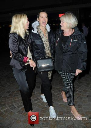 Carol McGiffin - Carol McGiffin spends the evening in Blackpool watching Cats The Musical with Loose Women friends. - Blackpool,...