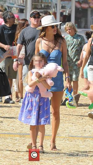 Alessandra Ambrosio , Anja Louise Ambrosio Mazur - Alessandra Ambrosia takes her kids to the Malibu Fair - Los Angeles,...