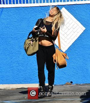 Emma Slater - Celebrities arrive at the Dancing with the Stars rehearsal studio to begin Season 21 at DWTS rehearsal...