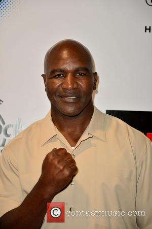 Evander Holyfield - World Heavyweight Champions Fight Night at Hard Rock Live! in the Seminole Hard Rock Hotel & Casino...