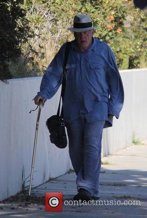 Nick Nolte - Nick Nolte walking with the aid of a walking stick while out and about in Malibu at...