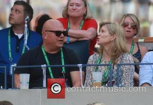 Michael Chiklis - US Open Tennis - Day 7 - Various Matches and Celebrity Sightings at Billy Jean King National...
