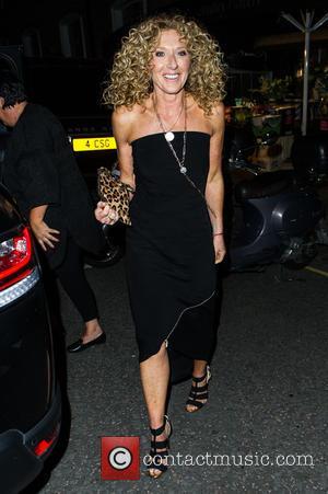 Kelly Hoppen - Amanda Wakeley 25th Anniversary Party at Harry's Bar - Arrivals - London, United Kingdom - Monday 7th...