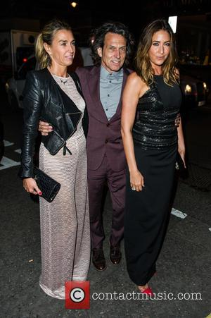 Lisa Snowdon - Amanda Wakeley 25th Anniversary Party at Harry's Bar - Arrivals - London, United Kingdom - Monday 7th...