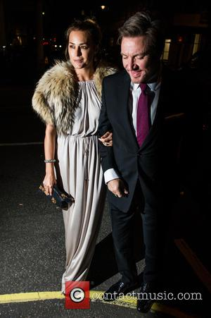 Simon Le Bon , Yasmin Le Bon - Amanda Wakeley 25th Anniversary Party at Harry's Bar - Arrivals - London,...
