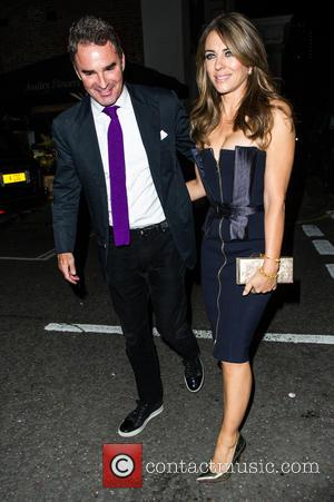 Elizabeth Hurley - Amanda Wakeley 25th Anniversary Party at Harry's Bar - Arrivals - London, United Kingdom - Monday 7th...