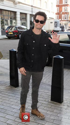 Dylan O'Brien - Dylan O'Brien pictured arriving at the Radio 1 studios to promote the new film, Maze Runner: Scorch...