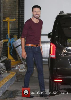Rylan Clark - Rylan Clark outside ITV Studios - London, United Kingdom - Monday 7th September 2015