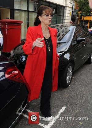 Jackie Collins - Jackie Collins at the BBC Radio 2 studios - London, United Kingdom - Monday 7th September 2015