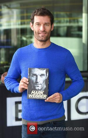Mark Webber - Mark Webber at the BBC Breakfast studios to promote his book 'Aussie Grit: My Formula One Journey'...