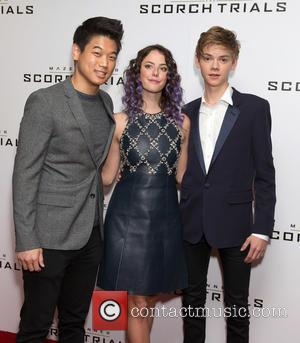 Ki Hong Lee, Kaya Scodelario and Thomas Brodie-sangster