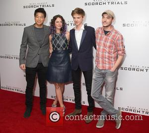 Ki Hong Lee, Kaya Scodelario, Wthomas Brodie-sangster and Wes Ball