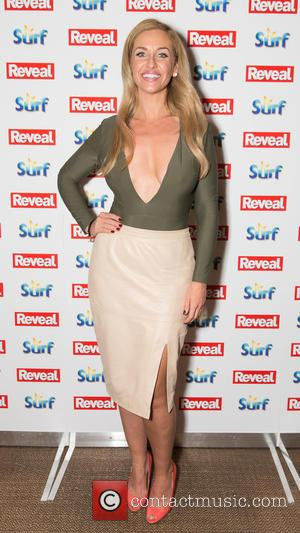 Josie Gibson - The Reveal Online Fashion Awards held at Distrkt 9 - Arrivals at Distrkt 9, London - London,...