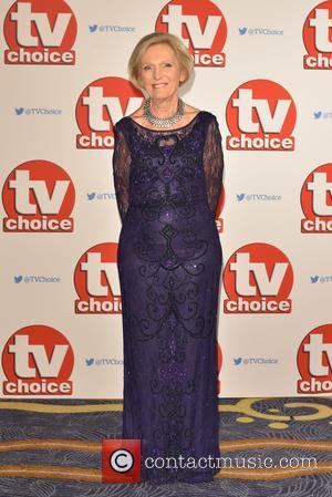 Mary Berry - The 2015 TV Choice Awards held at the Hilton Park Lane. - London, United Kingdom - Monday...