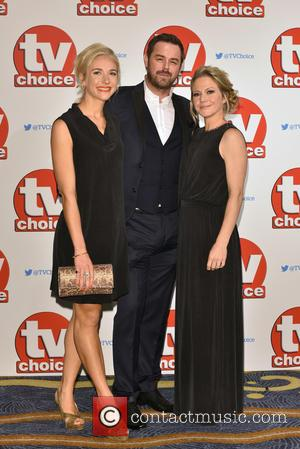 Danny Dyer , Maddy Hill - The 2015 TV Choice Awards held at the Hilton Park Lane. - London, United...